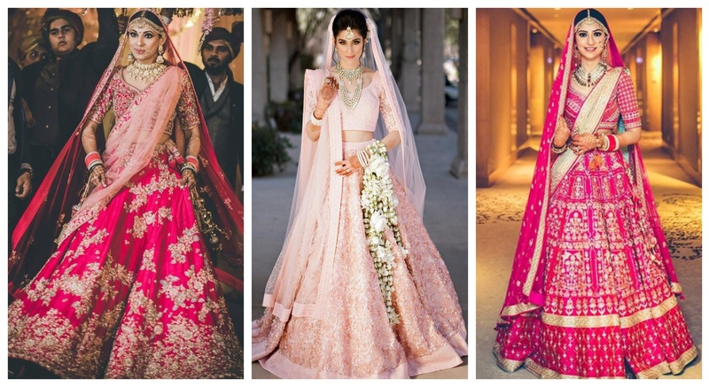 Indian wedding dresses for bride in 2020
