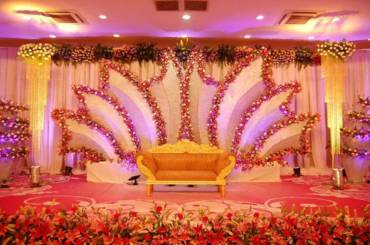 Stage decoration ideas for Indian wedding in 2020
