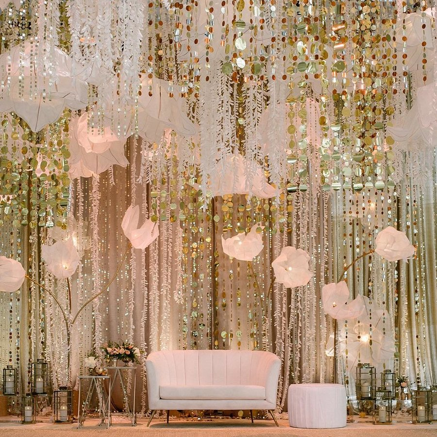Stage-decoration-ideas-for-Indian-wedding-in-2020